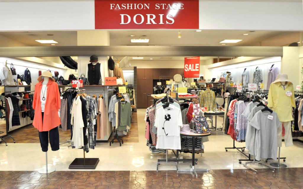 ファッションステージ ドリス